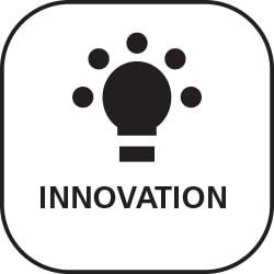 Symbol für Wert Innovation