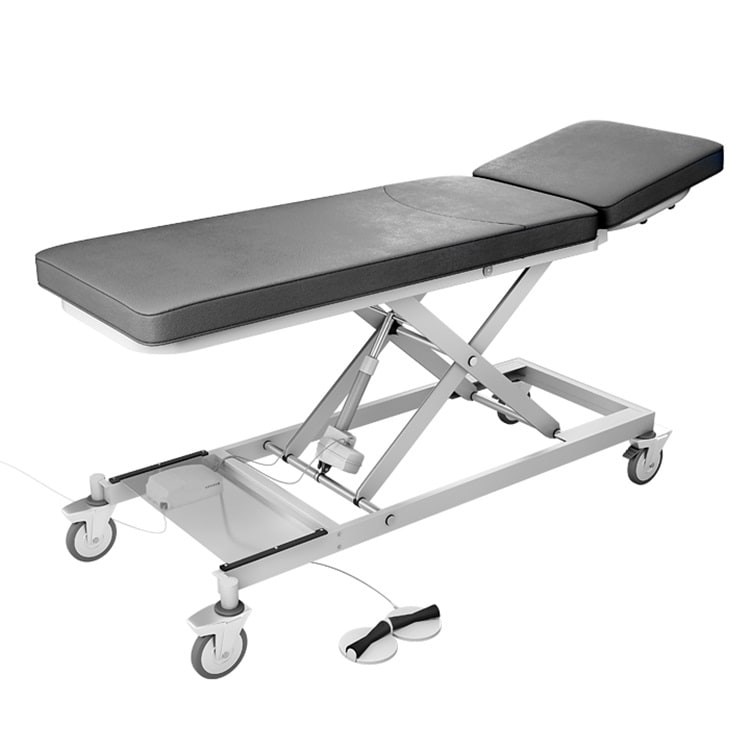 Couches and tables for treatment and examination