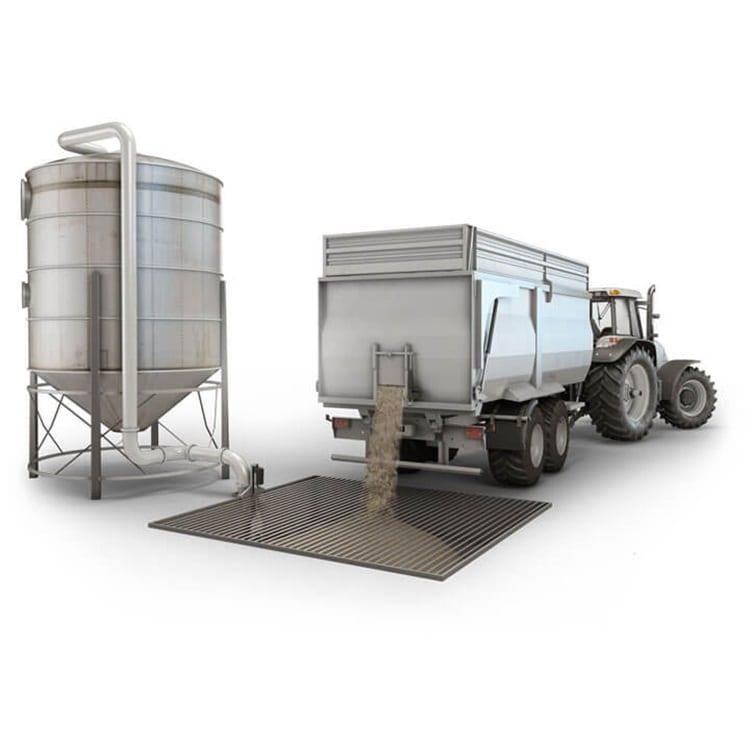 Getreide-Handhabung