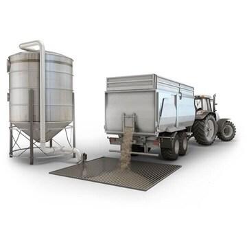 Manipulación de grano