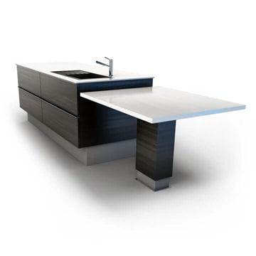 Keittiö - sivupöytä