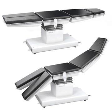 手術台と手術用椅子