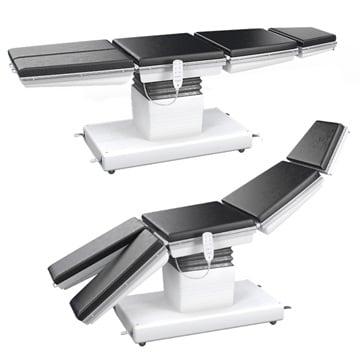 Operationsbord och -stolar