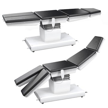 OP-Tische und OP-Stühle