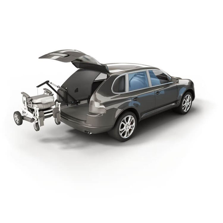 Advanced adjustment in disability vehicles using electric actuators