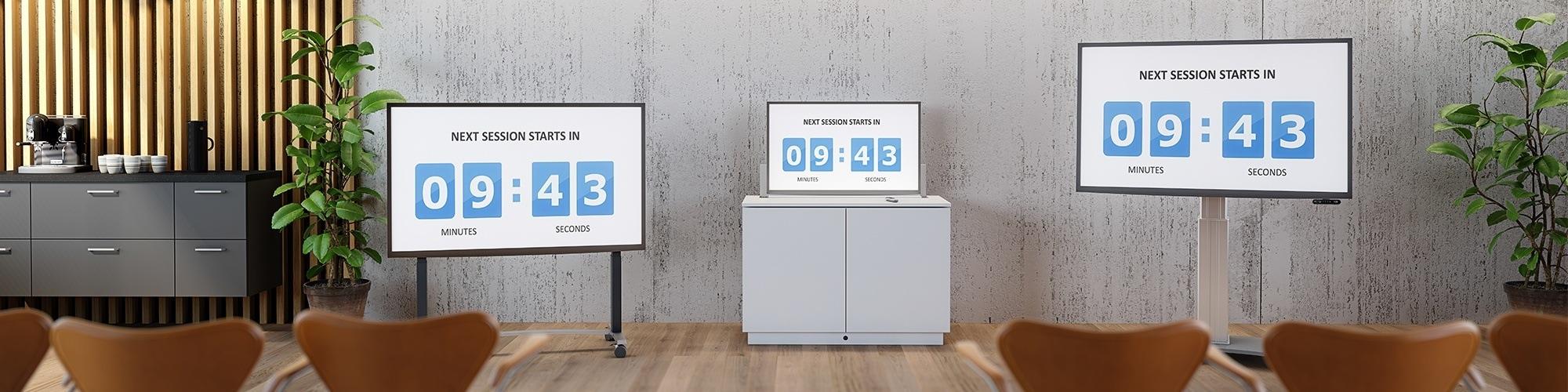 Monitor e TV motorizzati