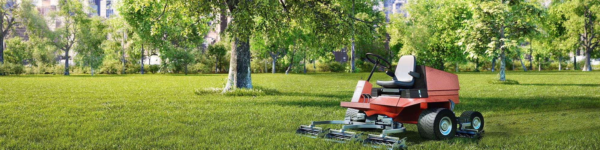 Garten- und Landschaftsbaumaschinen