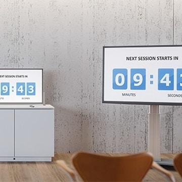 Näyttö- ja TV-telineet