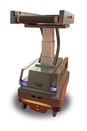 Zvedací sloupek LC3 je ideálním řešením pro mobilní transportní roboty