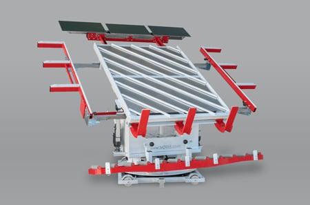 Optimale Materialhandhabung in der industriellen Fertigung dank elektrischer Verstellung
