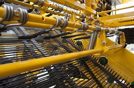 ROPA aardappelrooier met LINAK actuatoren