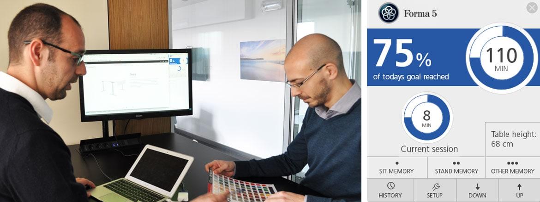 Per rendere il vostro marchio sinonimo di benessere, scegliete Desk Control