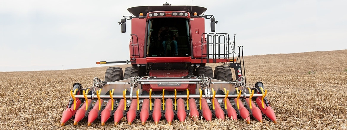 Better corn crops with an electrically adjusted picking plate