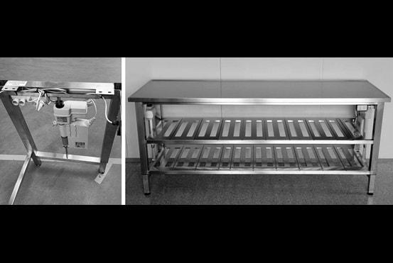Tafels voor industriële keukens