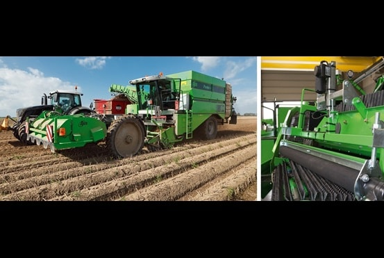 Efficient and comfortable harvesting case story