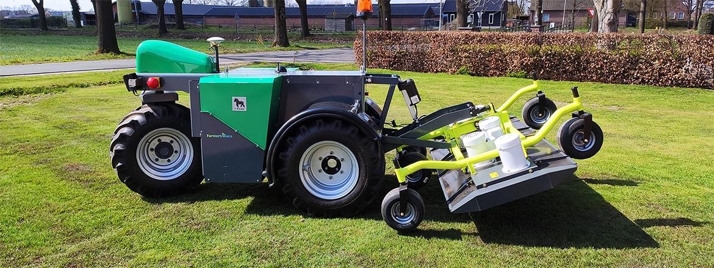 Onbemande tractor van Farmertronics