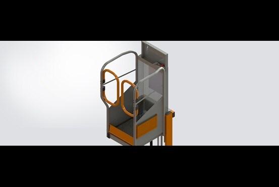 LockhardLIc. käyttää LINAKLA36 -karamoottoria