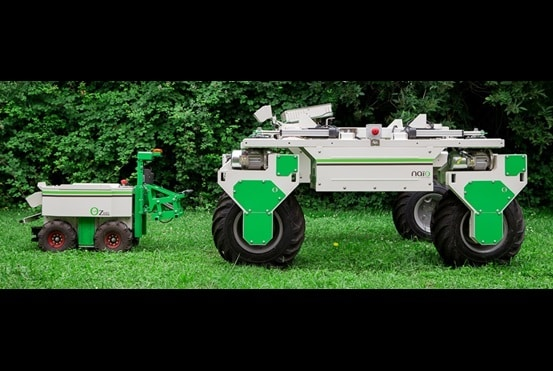 Optimal weeding with an electrically powered robot