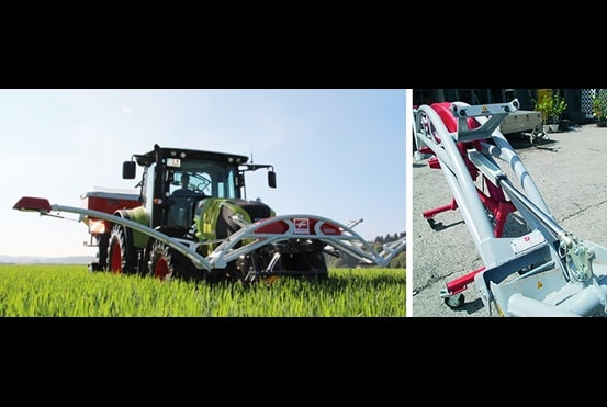 Наглядный пример использования продукции компании LINAK - точное земледелие