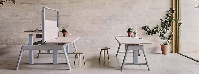 Sitt/ståbord och arbetsbänk, Sage från Benchmark