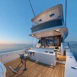 ALFAB fönsterautomatiseringslösning på en lyxbåt med LINAK ställdon