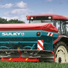 Automatizace rozmetadla hnojiv – reference