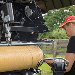 Flexible solution for balers case story