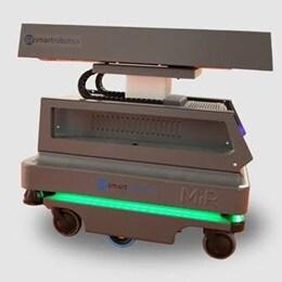 Système de transport avec colonne télescopique LINAK
