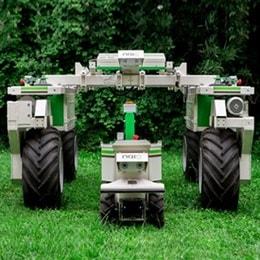 Optimale Unkrautbeseitigung mit einem elektrisch angetriebenen Roboter