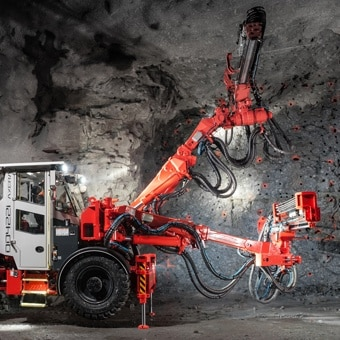 Sandvik improves ergonomics in mining using electric actuators