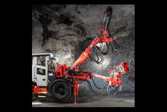 Sandvik förbättrar ergonomin inom gruvdriften