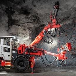 Sandvik 改善了採礦設備的人體工學