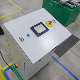 The PLC control system compatible with the LINAK actuators