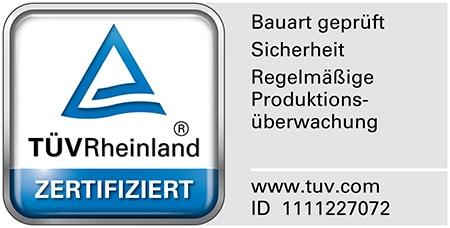 TÜV Zertifiziert Desk Frame 2