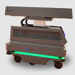 Transportsystem mit LINAK Hubsäule