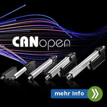 CANopen Schnittstelle für LInearantriebe