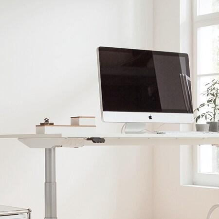 Computer på bord