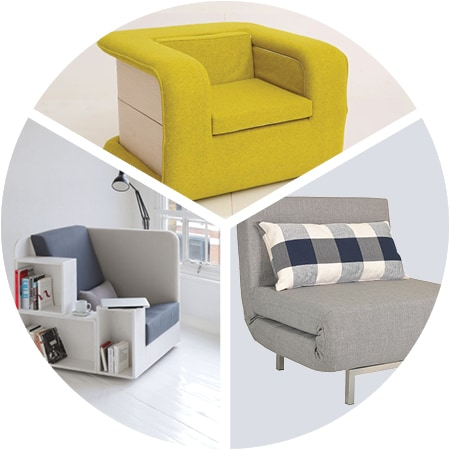 Multi-functional chairs