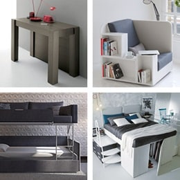 Multifunctional furniture examples