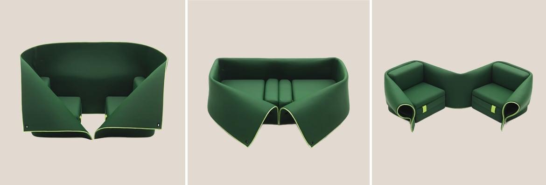 El sofá plegable 'Sosia'