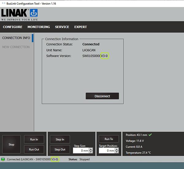 Versão 3.0 do BusLink