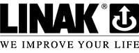 Logo LINAK nero