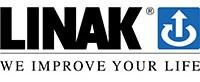 Logotipo completo da LINAK