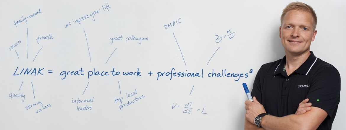 LINAK = great place to work + professional challenges²
