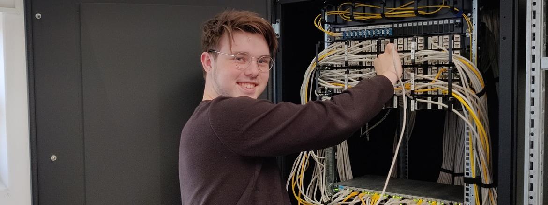 Lukas - IT-supporterelev