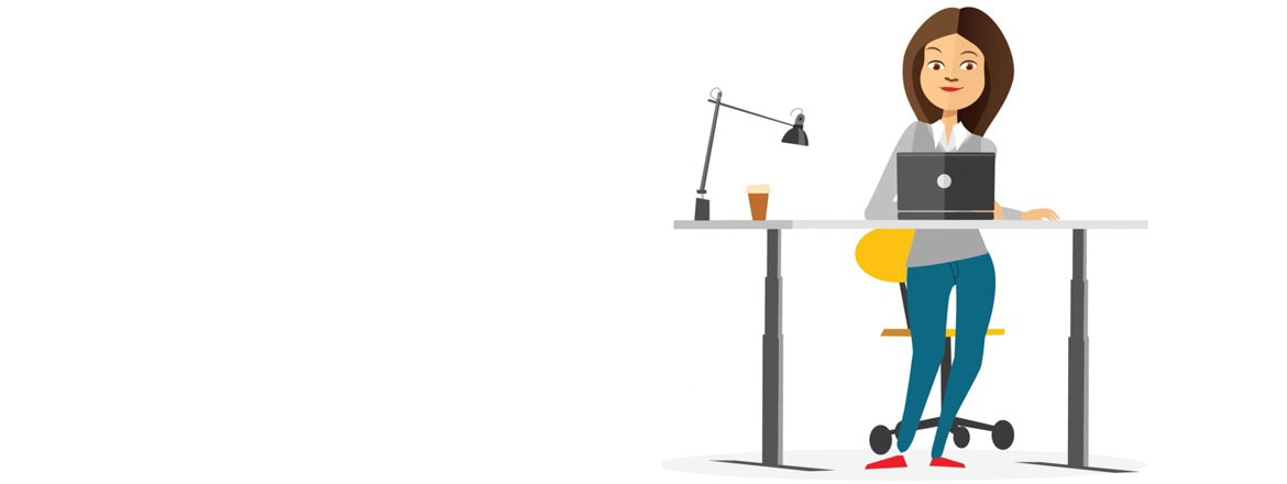 Be more productive with a height adjustable desk for Animation stand