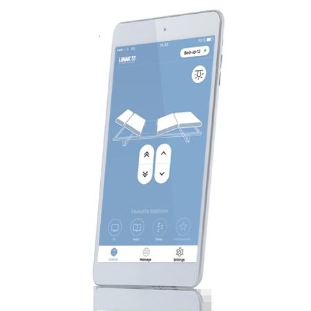 舒適床控制 app