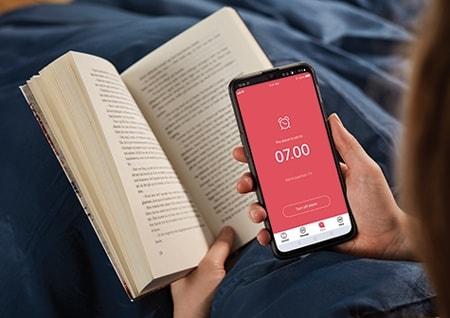 Edición personalizada de la app Bed Control de LINAK