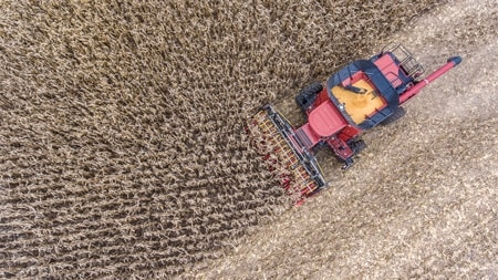 Electrify picking plates in harvesters to maximize crop output