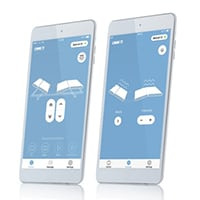 Bed Control App produktsida
